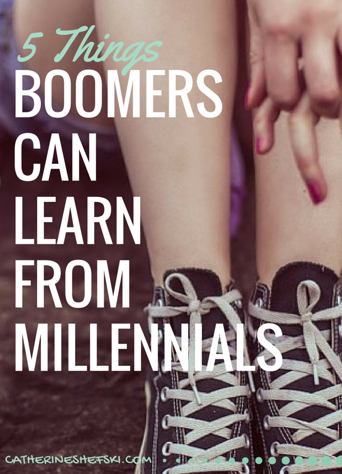 5 Things Boomers Can Learn From Millennials