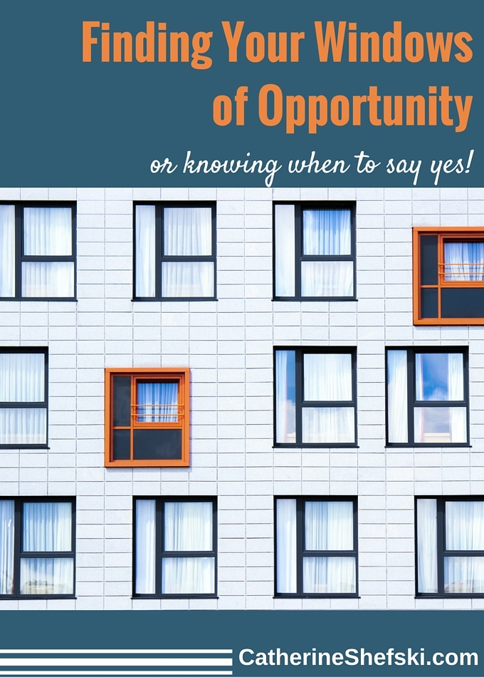 Finding Your Windows Of Opportunity